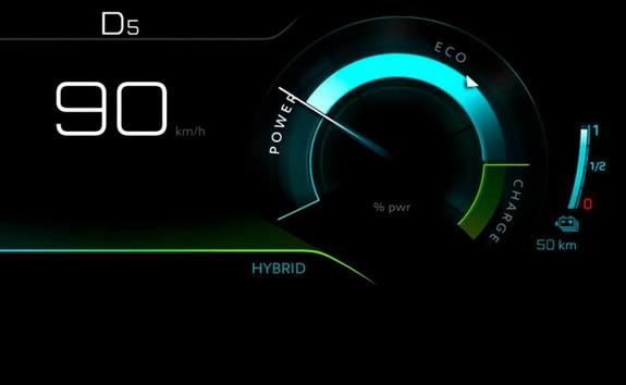 Plug-in hybride-technologie - Hybrid-modus