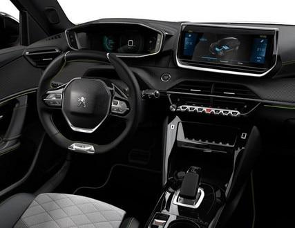 Nieuwe Peugeot e-2008 SUV GT - interieur