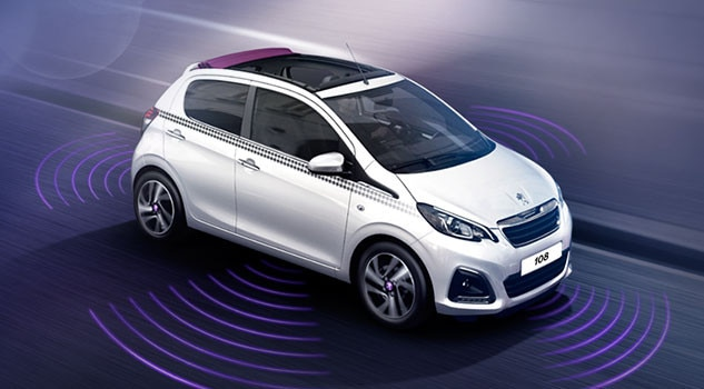 Peugeot 108 - ultieme intuïtieve rijervaring