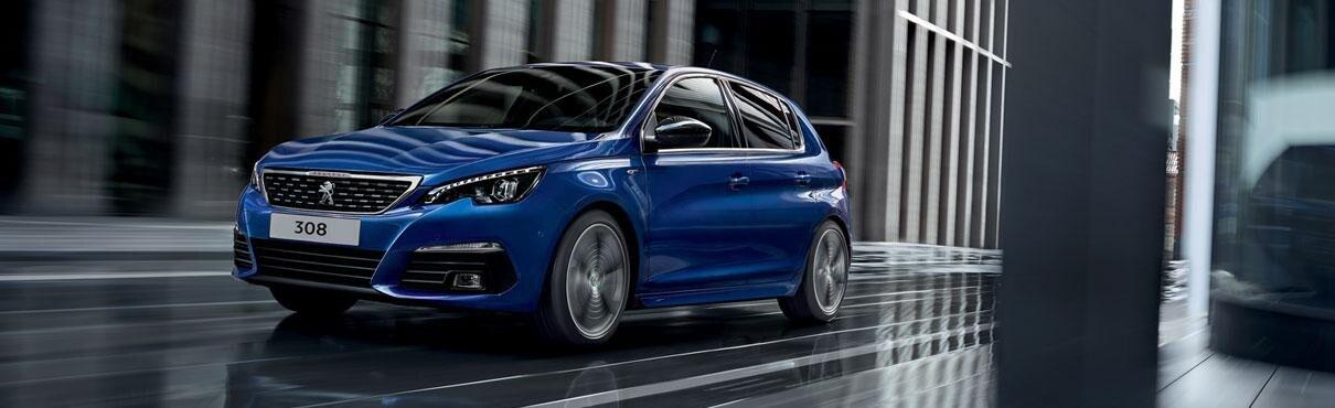 Peugeot 308 Blue Lease