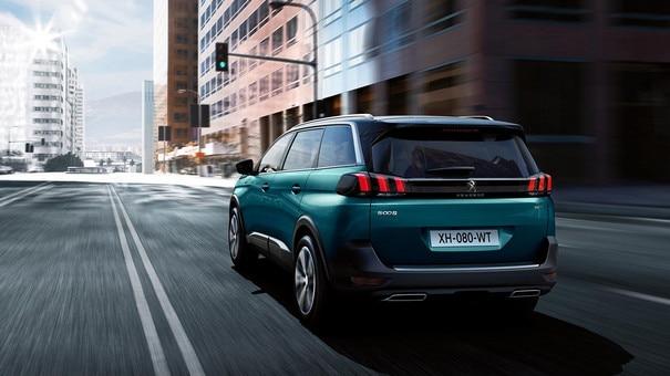 Peugeot 5008 SUV - Achterlichten