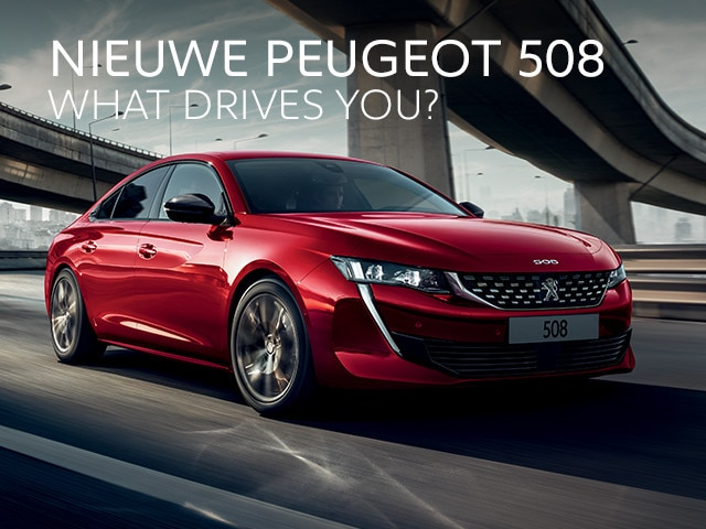 Nieuwe Peugeot 508 - What drives you?