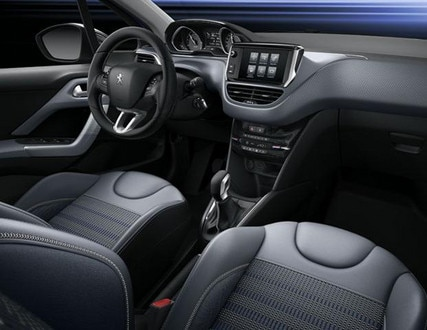 Peugeot 208 Blue Lion - Peugeot i-Cockpit