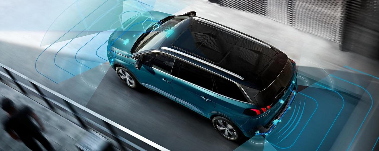 Peugeot 5008 SUV - Veiligheid en rijcomfort