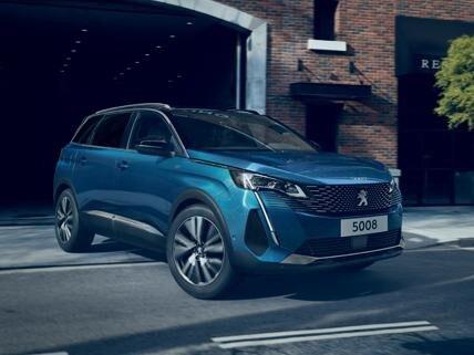 Peugeot 5008 SUV - Mobiliteitsbudget