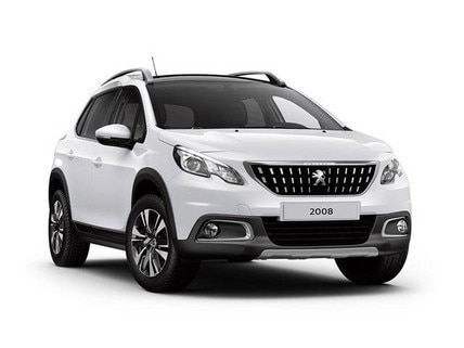 Peugeot 2008 SUV Blue Lease Executive