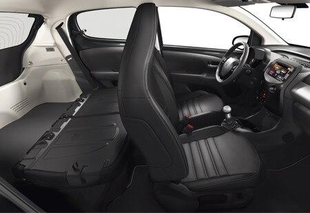 Peugeot 108 - bagageruimte