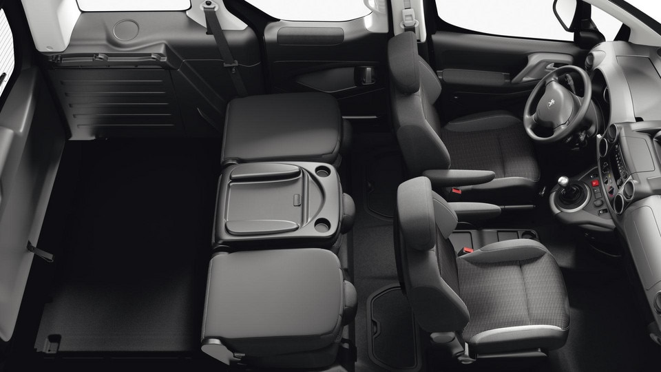 Peugeot Partner Tepee - deelbare achterbank