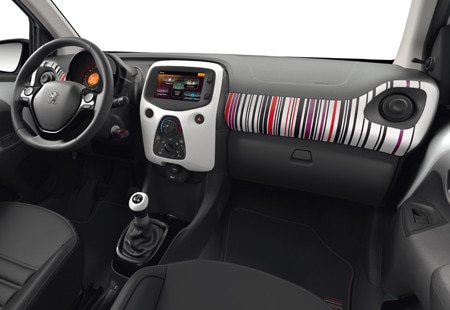 Peugeot 108 - Barcode interieur