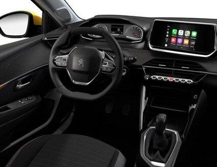 nieuwe Peugeot 208 Active PureTech 75 - interieur
