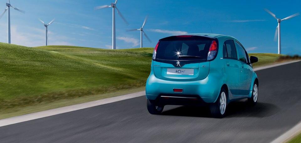 Peugeot iOn - geluidscomfort