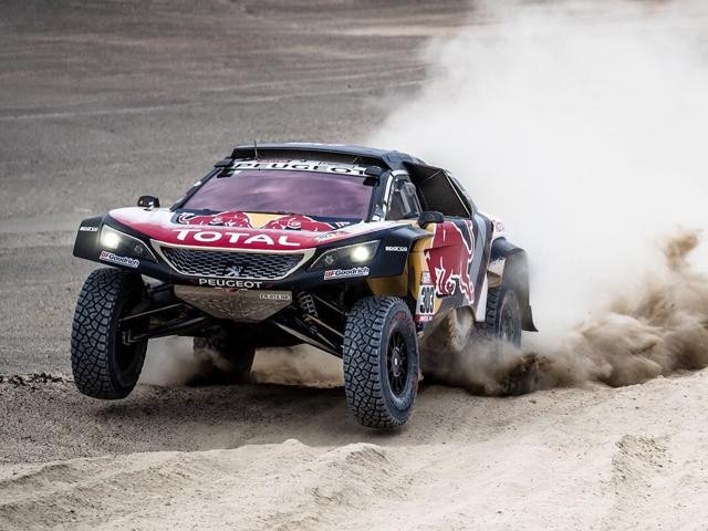 Peugeot winnaar Dakar 2018