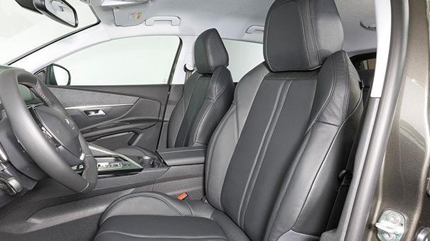 Peugeot 3008 SUV Blue Lease - Leder actie