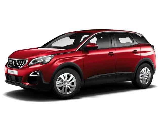 Peugeot 3008 SUV Blue Lease Executive