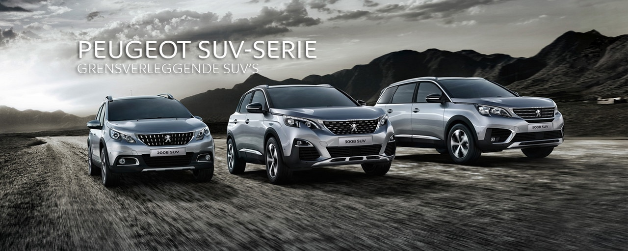 Peugeot SUV-serie - Private-Lease-Voordeel
