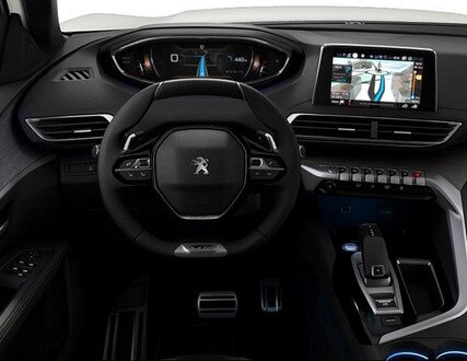 Peugeot 3008 SUV GT - interieur - dashboard
