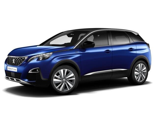 Peugeot 3008 Suv Blue Lease Zakelijk Leasen Peugeot