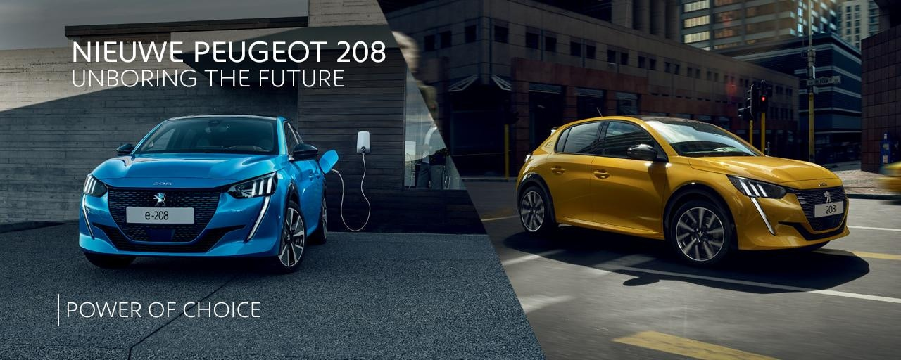 Nieuwe Peugeot 208 - Power of choice