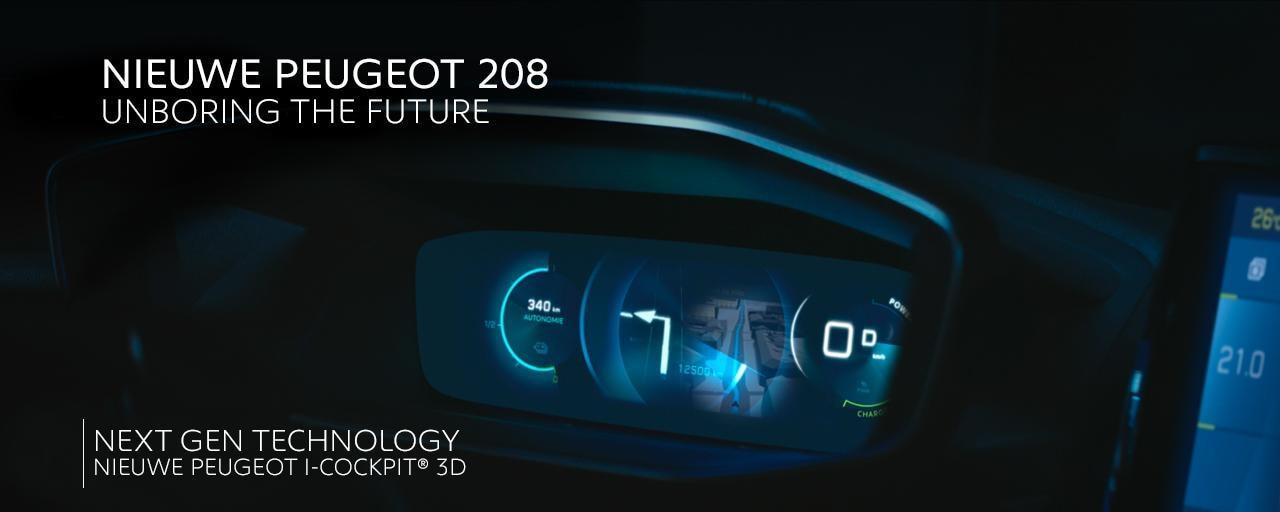 Nieuwe Peugeot 208 - Next Gen Technology