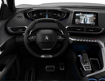 Peugeot 5008 SUV GT - interieur - dashboard