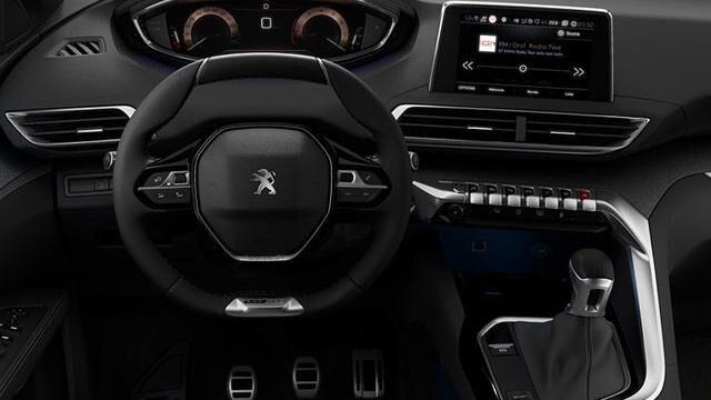 Peugeot 5008 SUV GT-line - interieur - dashboard