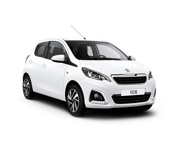 Peugeot 108 Blue Lease Allure