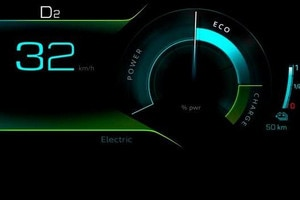 Plug-in hybride-technologie - Electric-modus