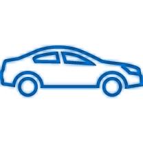 De belading van de auto