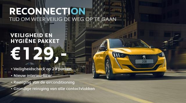 Peugeot Services & Accessoires - Zomercheck - VEILIGHEID & HYGIËNE pakket