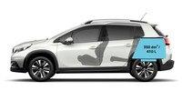 Peugeot 2008 SUV - afmetingen