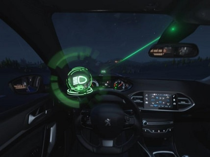 Peugeot  - Virtual Reality - High beam assist