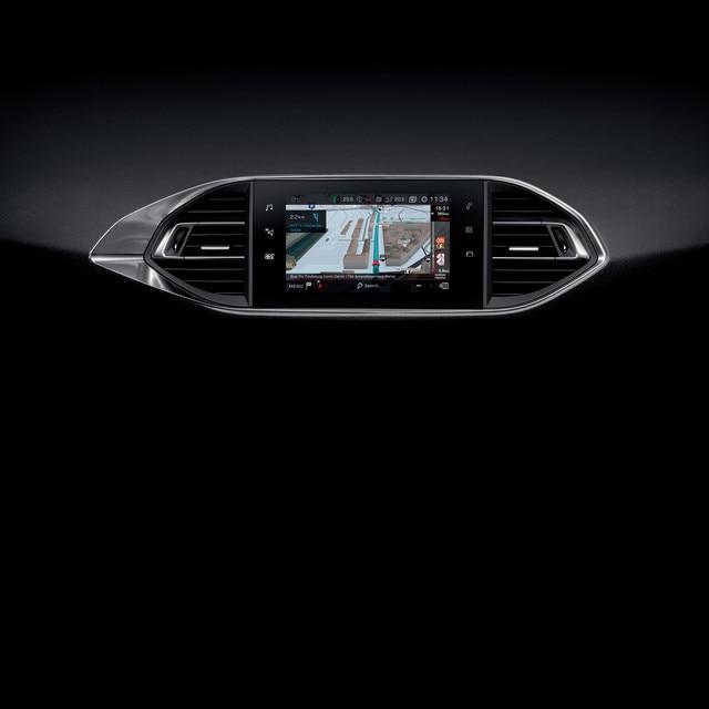 De nieuwe Peugeot 308 GTi by Peugeot Sport: touchscreen en Connect 3D-navigatie