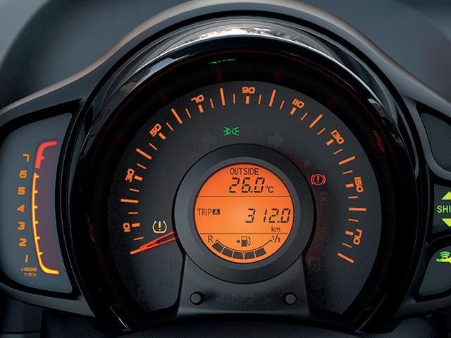 Peugeot 108 Active - toerenteller