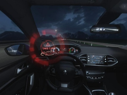 Peugeot  - Virtual Reality - Driver attention alert