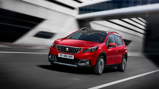 Peugeot 2008 SUV - kleur Rouge Ultimate