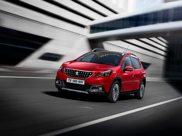 Peugeot 2008 SUV - kleur Rouge Ultimate