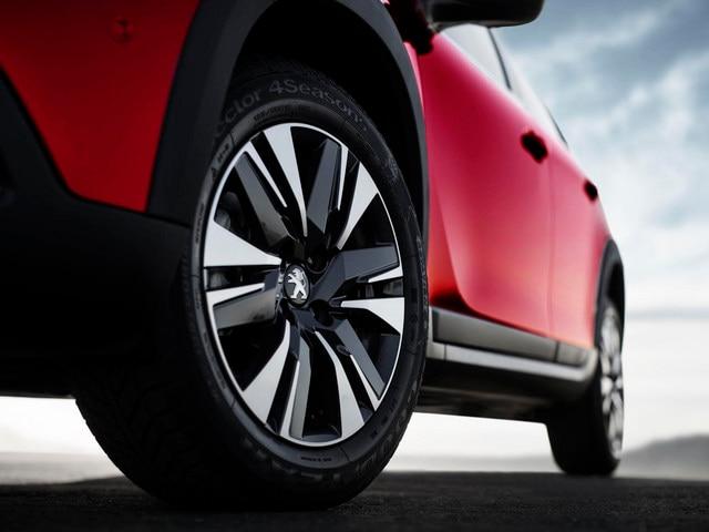 Peugeot 2008 SUV -  exterieur - velgen