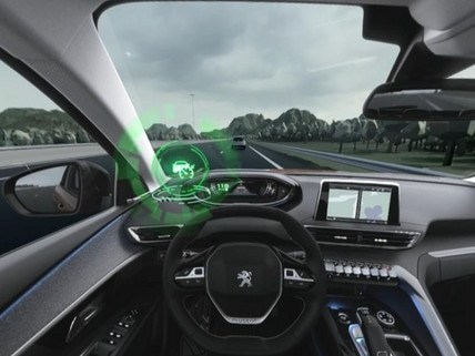 Peugeot  - Virtual Reality - Adaptive Cruise control