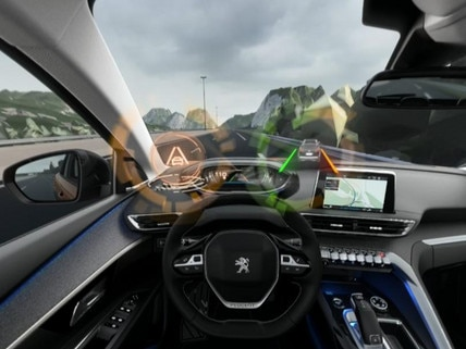 Peugeot  - Virtual Reality - Active lane departure warning