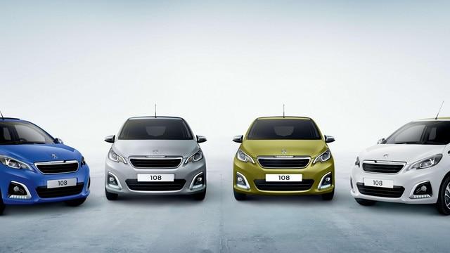 Peugeot 108 - Personalisatie in 6 frisse kleurcombinaties