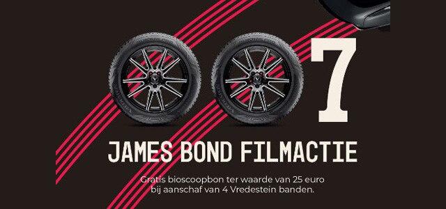 JAMES BOND filmactie - VREDESTEIN banden