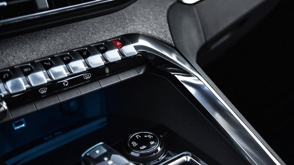 Nieuwe PEUGEOT 5008 SUV: Toggle switches