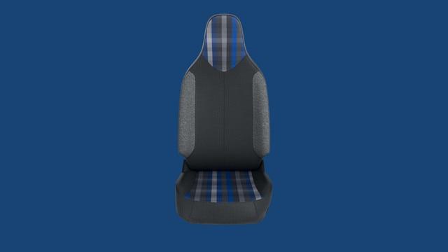 Peugeot 108 - Personalisatie thema 'Pack Ambiance Blue' bekleding