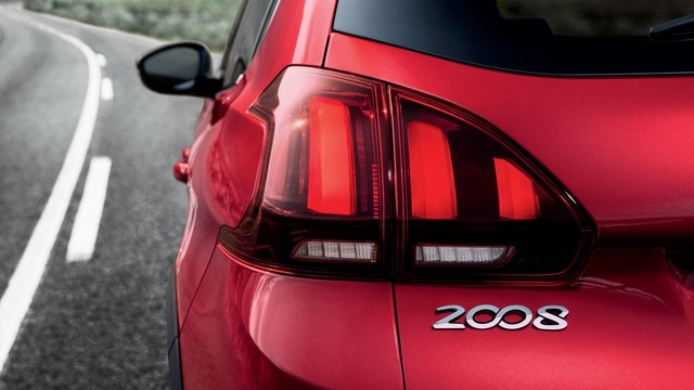 Peugeot 2008 SUV - achterlichten