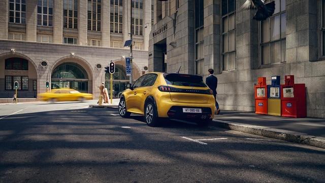 Nieuwe Peugeot 208 - Karakteristieke achterzijde