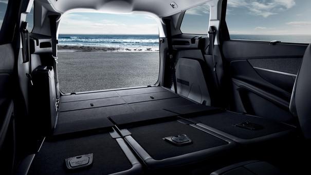 Nieuwe PEUGEOT 5008 SUV: Grote bagageruimte