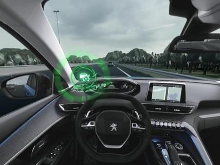 Peugeot  - Virtual Reality - Adaptive Cruise control