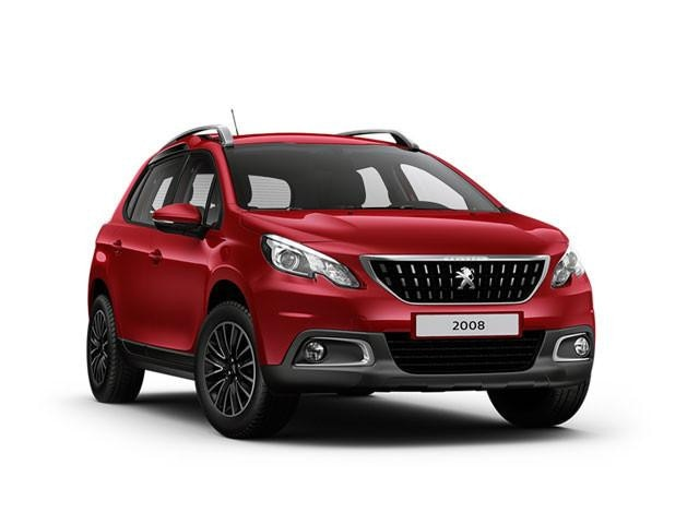 Peugeot 2008 SUV Blue Lease Active