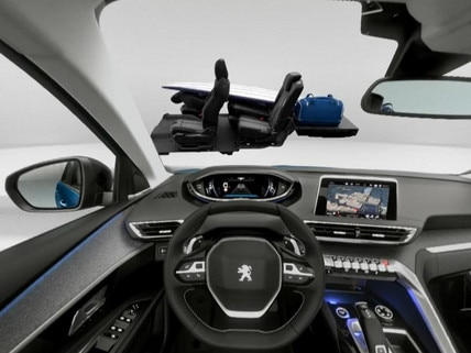 Peugeot  - Virtual Reality - Long objects modularity