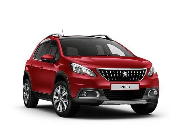Peugeot 2008 SUV Blue Lease Allure